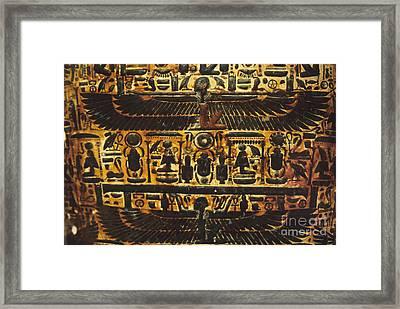 Sarcophagus Exterior Framed Print by Adam Crowley