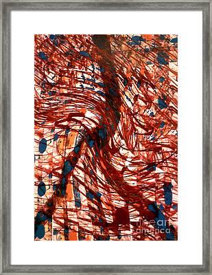 Sashay Peace Framed Print by Robert Haigh