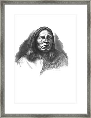 Satanta Framed Print by Lee Updike