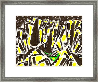 Saturday Night Headed For The City Framed Print by Al Goldfarb
