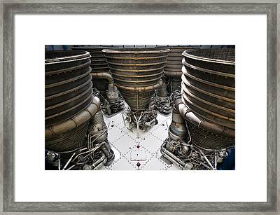 Saturn Five Framed Print by David Lee Thompson