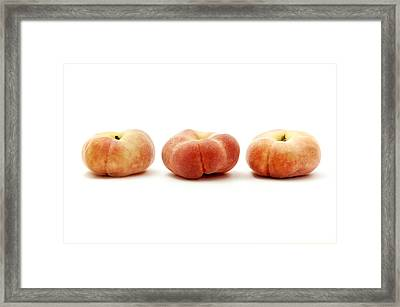 Saturn Peaches  Framed Print