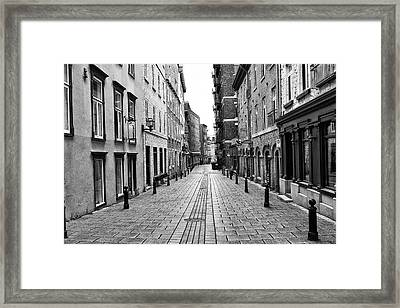 Framed Print featuring the photograph Sault-au-matelot by Eunice Gibb