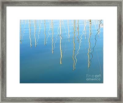 Sausalito Bay. California. Framed Print by Ausra Huntington nee Paulauskaite