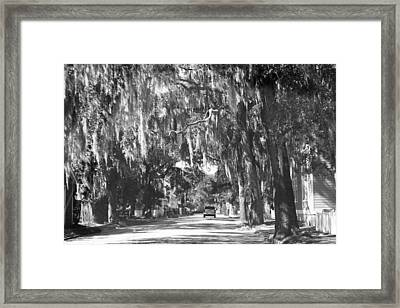 Savannah II Framed Print by Magda Levin-Gutierrez
