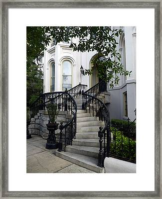 Savannah Stairway Framed Print