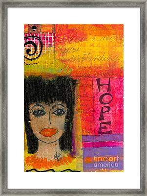 Save My Weeping Heart Framed Print by Angela L Walker