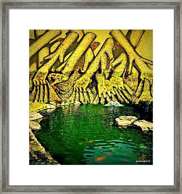 Save With The Little Time We Lack Framed Print by Paulo Zerbato