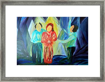 Saved At The River Framed Print by Shelli Finch