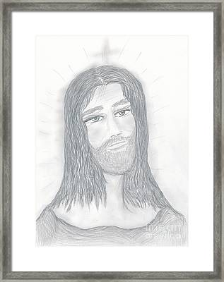 Savior Framed Print by Sonya Chalmers