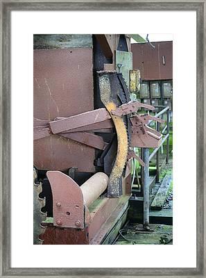 Sawmill Framed Print