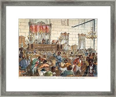 Sc: Legislature, 1876 Framed Print by Granger
