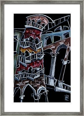 Scala Del Bovolo Framed Print by Arte Venezia