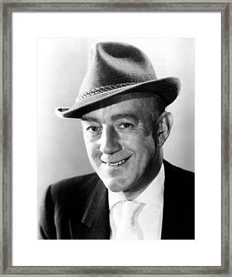 Scapegoat, The, Alec Guinness, 1959 Framed Print