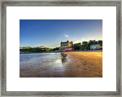Scarborough Eve Framed Print by Svetlana Sewell