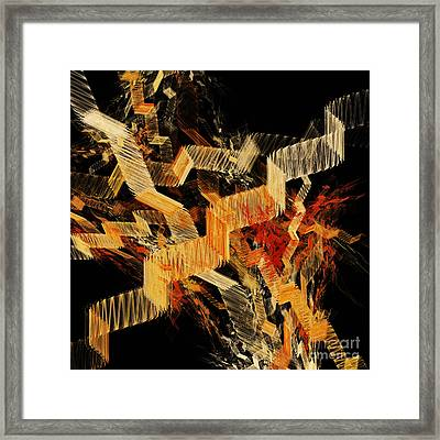 Scare Case Stair Case Framed Print by Andee Design