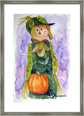 Scarecrow Framed Print by John Smeulders