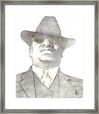 Scarface Framed Print by Lee McCormick