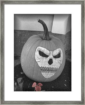 Scary Framed Print by Juliana  Blessington