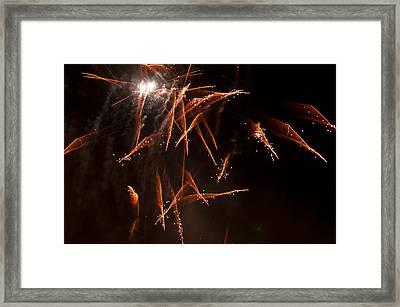 Scatter Shot Framed Print by Paul Mangold