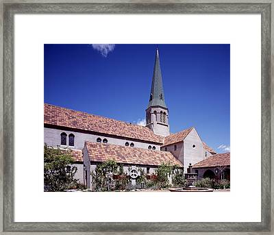 Scenes Of Los Angeles, St. Marks Framed Print by Everett