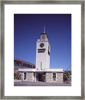 Scenes Of Los Angeles, The Farmers Framed Print by Everett