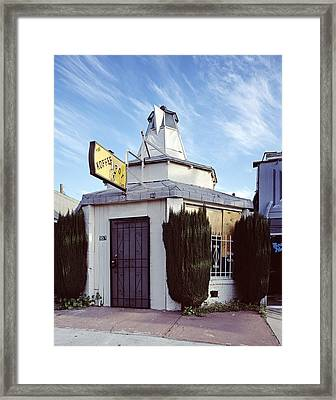 Scenes Of Los Angeles, The Koffee Pot Framed Print by Everett