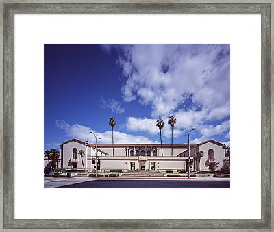 Scenes Of Los Angeles, The Pasadena Framed Print by Everett