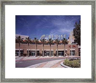 Scenes Of Los Angeles, The Pike Framed Print by Everett