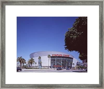 Scenes Of Los Angeles, The Staples Framed Print