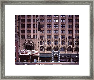 Scenes Of Los Angeles, The United Framed Print by Everett