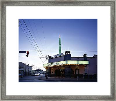 Scenes Of Texas, The Guadalupe Cultural Framed Print by Everett