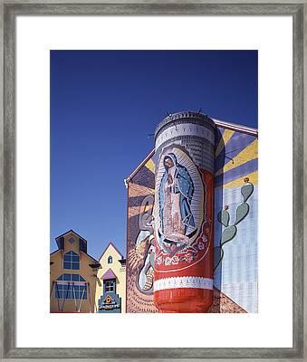 Scenes Of Texas, The Virgin Framed Print by Everett