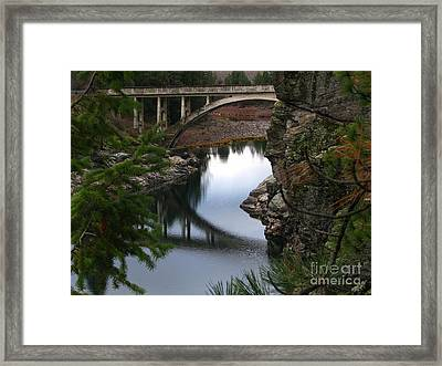 Scenic Fashion Framed Print
