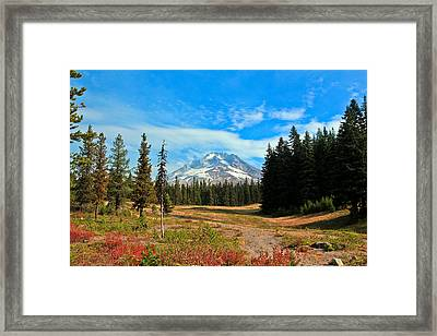 Scenic Mt. Hood In Oregon Framed Print by Athena Mckinzie