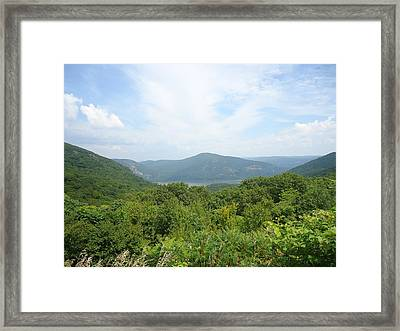 Scenic Overview Framed Print