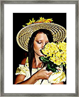 Scent Of Summer Framed Print by Cindy Nunn