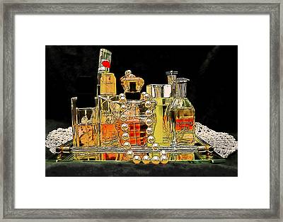 Framed Print featuring the photograph Scents Of A Woman by DigiArt Diaries by Vicky B Fuller