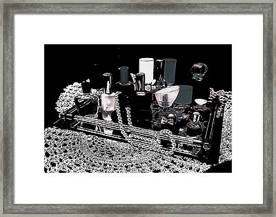 Framed Print featuring the photograph Scents Of A Woman II Abstract by DigiArt Diaries by Vicky B Fuller