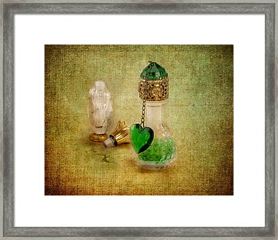 Scents Of Days Gone By Framed Print by Jai Johnson