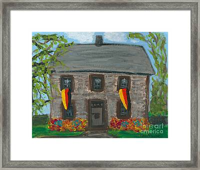 Schifferstadt Architectural Museum II Framed Print by Ania M Milo