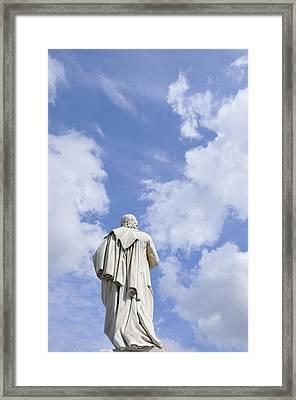 Schiller Monument In Berlin Framed Print