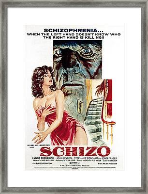 Schizo, Poster, 1976 Framed Print by Everett
