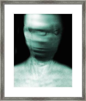 Schizophrenia Framed Print by Victor Habbick Visions