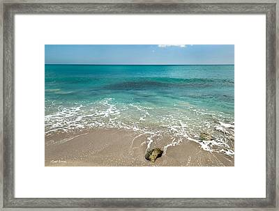 School At Blowing Rocks Framed Print