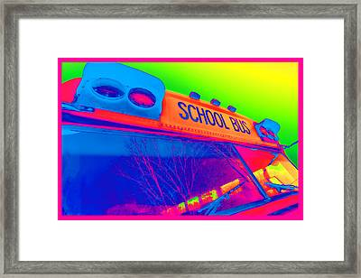 School Bus Framed Print by Gordon Dean II