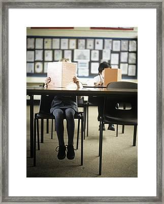 School Children Framed Print by Ian Boddy