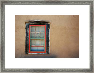 School House Window Framed Print
