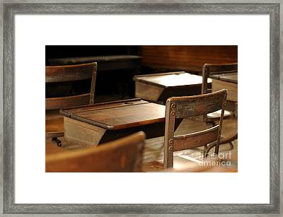 School Is Out Framed Print by Nancy Greenland