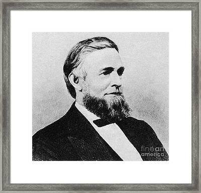 Schuyler Colfax Framed Print
